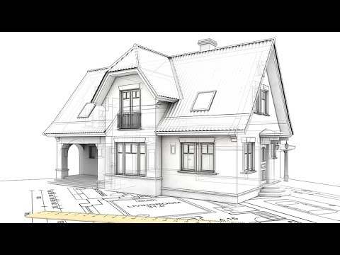 Добротный одноэтажник с «запасной» мансардой. Часть 1. Конструктив здания // FORUMHOUSE