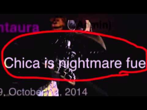 Fnaf 2 old chica is nightmare fuel youtube