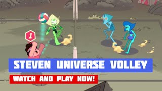 Steven Universe: Beach City Turbo Volleyball · Game · Gameplay