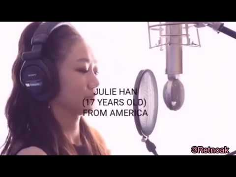The Blacklabel trainee ( Julie Han )