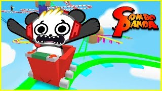 Roblox Ride Cart to End Let's Play with Combo Panda