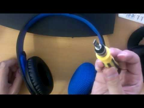 Tutorial) Playstation Silver Wired Headset ear cushion