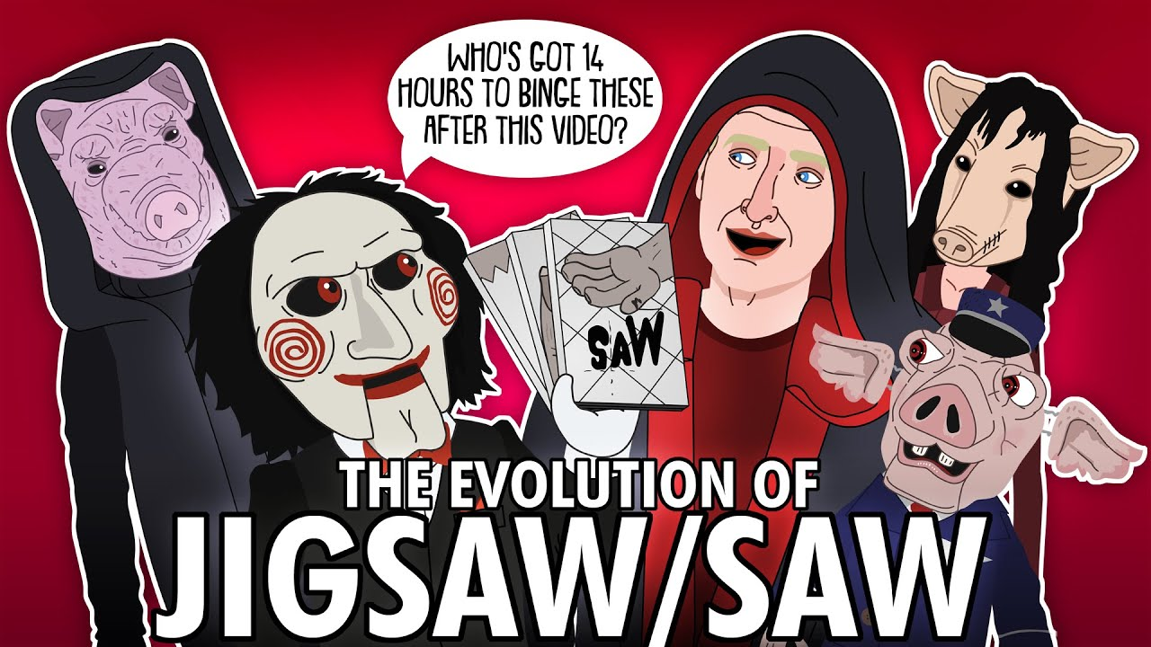 The Evolution of JIGSAW / SAW's Antagonists (ANIMATED)