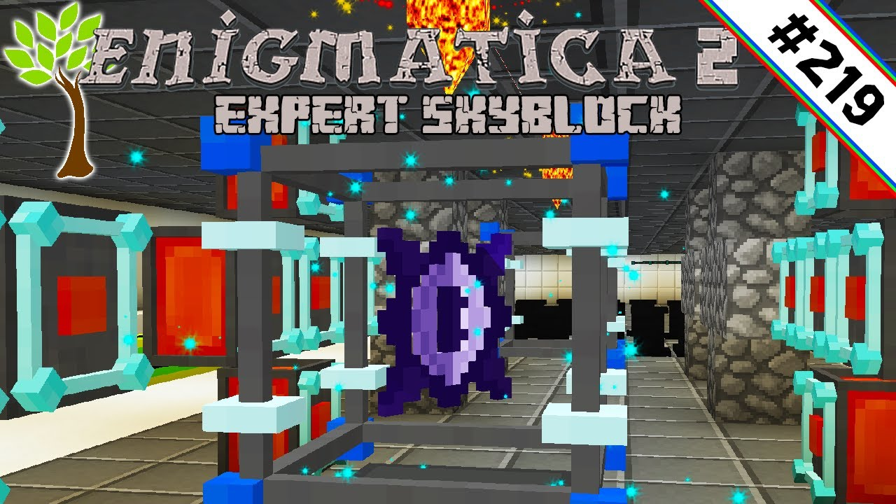 Chaotic Core autocrafting 🌳 Enigmatica 2 Expert Skyblock #219