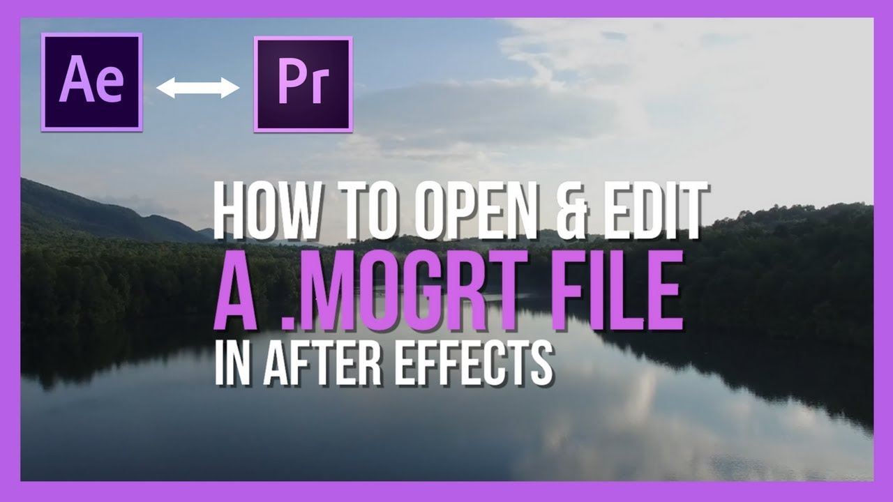 Quick Fix How To Open A Motion Graphics Template In Adobe After - Purchase after effects templates