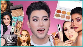 FULL FACE USING ONLY BEAUTY GURU'S BRANDS AND COLLABS!