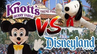 10 Reasons Why Knott S Berry Farm Is Better Than Disneyland Youtube