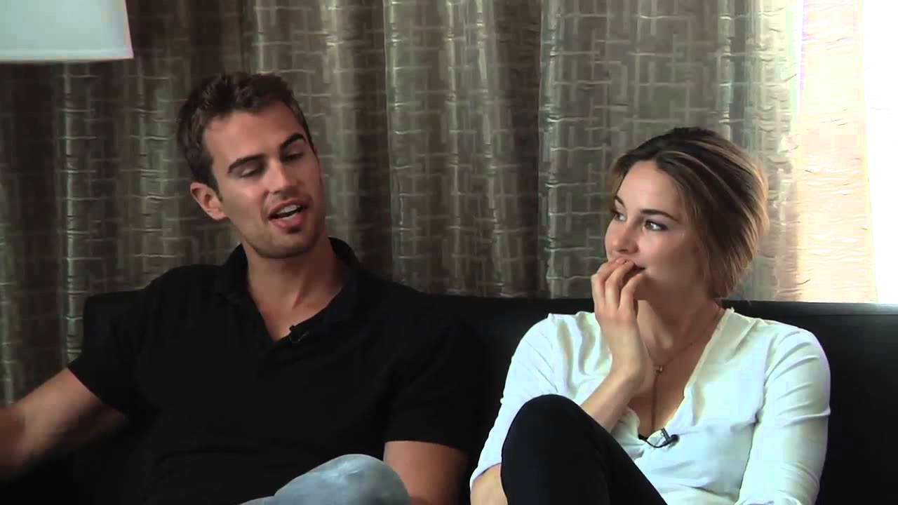 Divergent - Theo James & Shailene Woodley Interview (SDCC ...