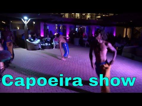 Capoeira show in Cape Verde (Sal) - Melia Llana Hotel