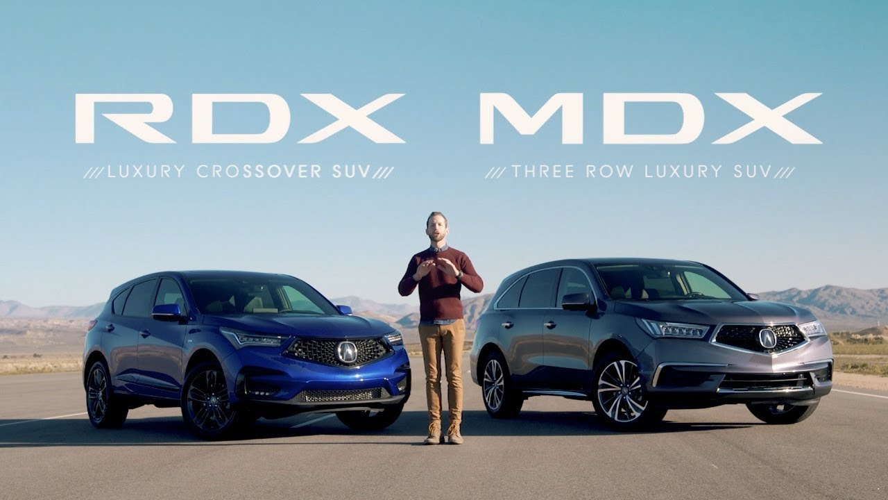 Crossover Vs Suv >> Acura Mdx Vs Rdx Suv Comparisons Which Is Right For You