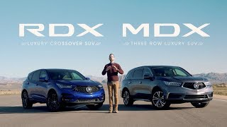Acura MDX vs. RDX SUV Comparisons - Which is Right for You?