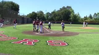 Greysen Carter Goes Deep at Stanford All Star Baseball Camp 7.9.18