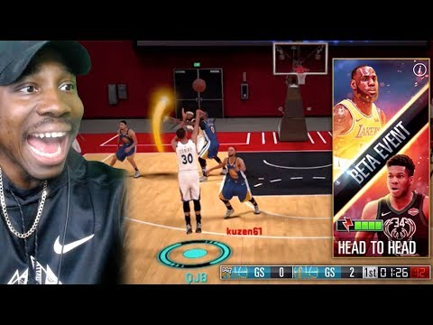 REAL TIME PLAYER Vs PLAYER BETA! NBA 2K Mobile Gameplay Ep. 26