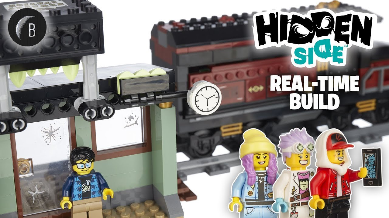 LEGO 70424 - Ghost Train Express - Hidden Side - Build and Review