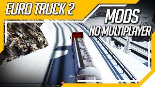 Euro Truck Simulator 2 - Multiplayer - Jogando com Mod de Caminhão Tlesgames e Mod Mapa Serpentine