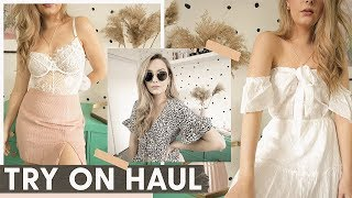 HUGE TRY ON HAUL! Princess Polly Clothing Haul!