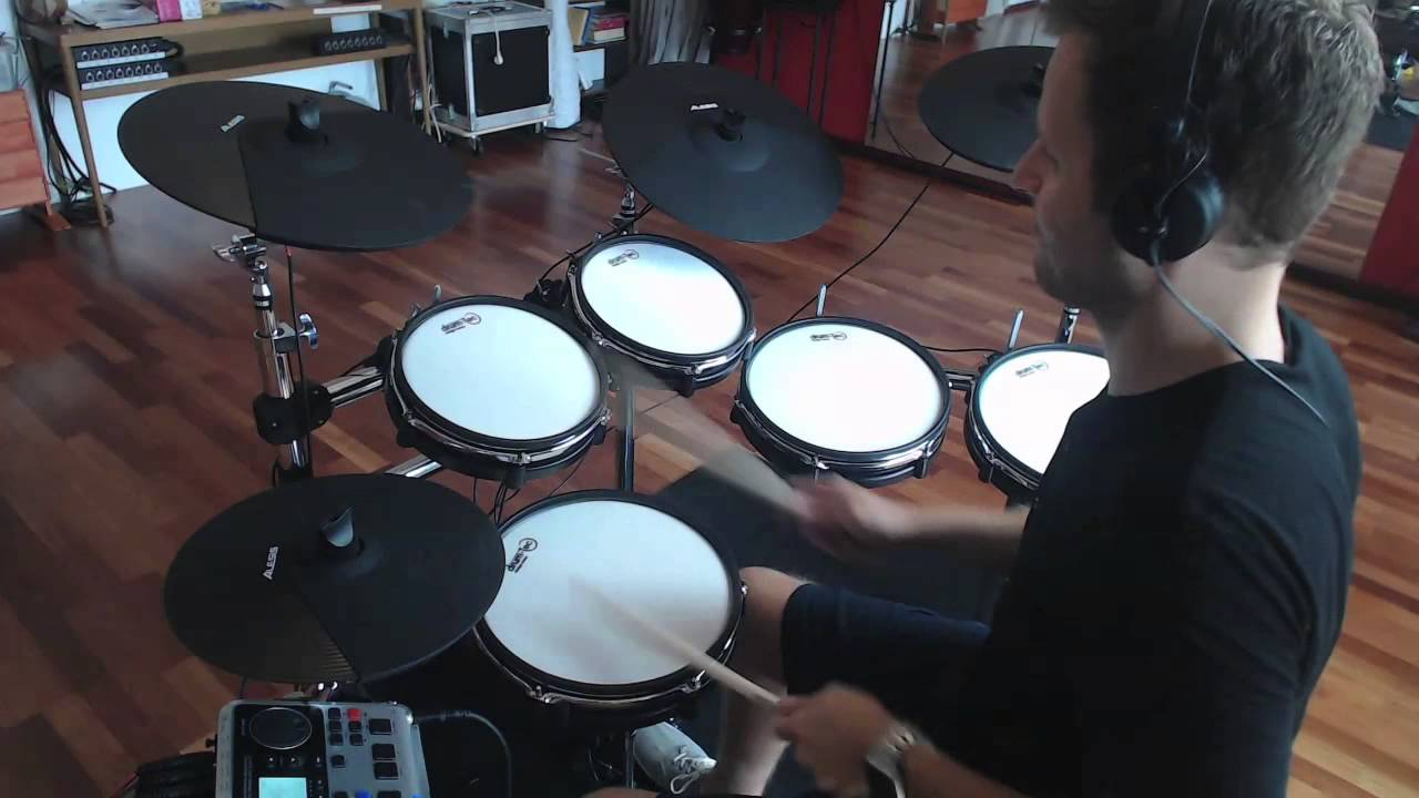 alesis dm10x mesh kit optimized by drum tec youtube. Black Bedroom Furniture Sets. Home Design Ideas