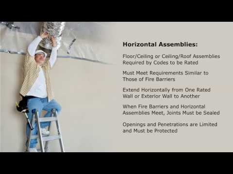 Fire Barriers Horizontal Assemblies And Fire Partitions Overview