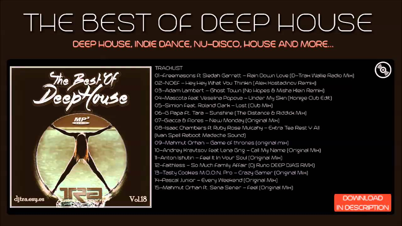 Best of deep house vocal house dj tra youtube for Popular deep house