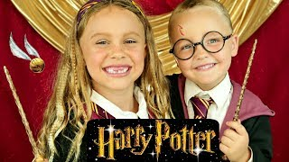 Harry Potter and Hermione Costumes and Makeup