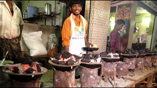 #NeverSeenBefore This Style of Cooking | Steamed Black Gram Cake Making in Coal Stove | Dibba Rotti