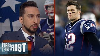 Patriots dynasty was over when they lost to the Dolphins — Nick Wright | NFL | FIRST THINGS FIRST