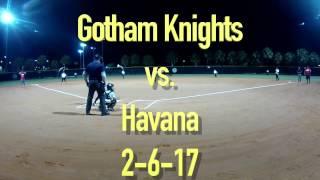 Gotham Knights vs Havana Feb 6