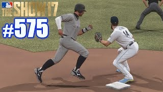 FIRST TIME I'VE STOLEN THIRD FROM FIRST! | MLB The Show 17 | Road to the Show #575