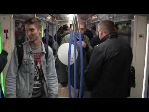 На ВВЦ (ВДНХ) публике показали новые вагоны столичного метро