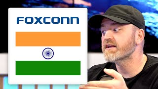 Foxconn Investing $1,000,000,000 in India