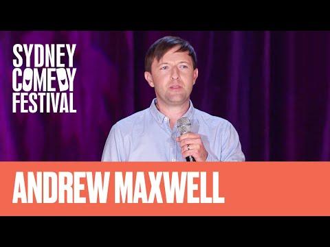 Andrew Maxwell - Sydney Comedy Festival 2016