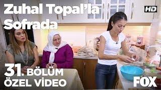 Kübra Hanım, Kıbrıs tatlısı yapıyor...  Zuhal Topal'la Sofrada 31. Bölüm