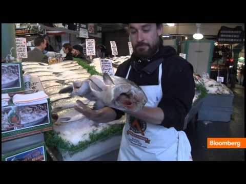How To Toss A Fish Like At Seattle's Pike Place Market