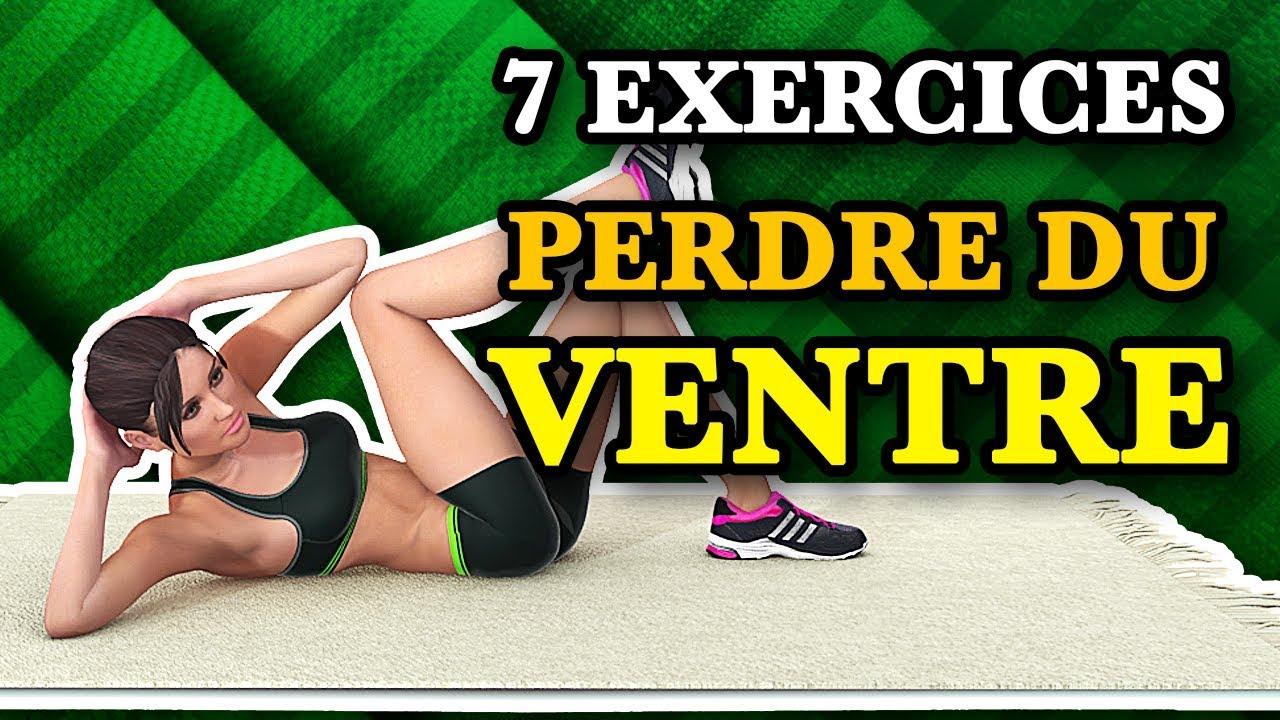 Top 7 des Exercices pour Perdre du Ventre à la Maison ...