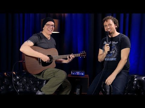 Devin Townsend Project visits Hughes & Kettner 2017   Interview 4/5: Acoustic fun with Devin