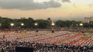 Video Best Shivaji Maharaj Ghoshna Ever by Arjun Mane   Shivadnya Dhol Tasha Pathak   Pune dhule mumbai download MP3, 3GP, MP4, WEBM, AVI, FLV September 2018
