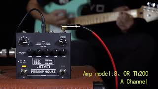 R-15 PREAMP HOUSE Tone setting