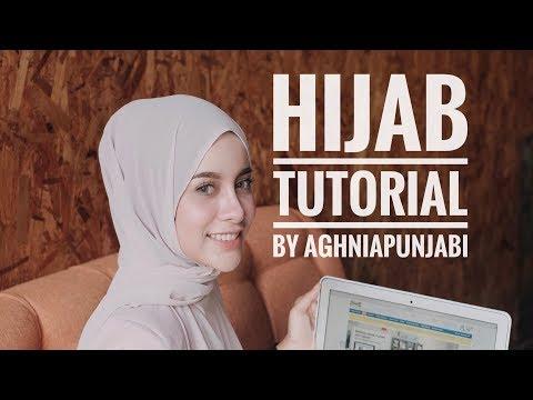 HIJAB TUTORIAL ala Aghnia Punjabi Feat. @daissy.id - YouTube