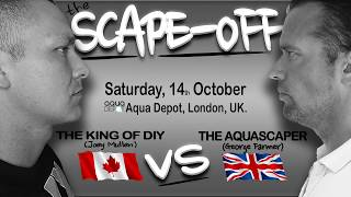 The aquarium scape-off - King of DIY