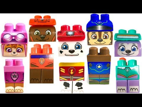 Thumbnail: Best Learning Colors for Children Paw Patrol Wrong Heads Ionix Blocks Zuma Everest | Fizzy Fun Toys