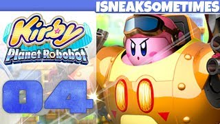 Kirby Planet Robobot - Area 2: Resolution Road! - Episode 4 (All Code Cubes)