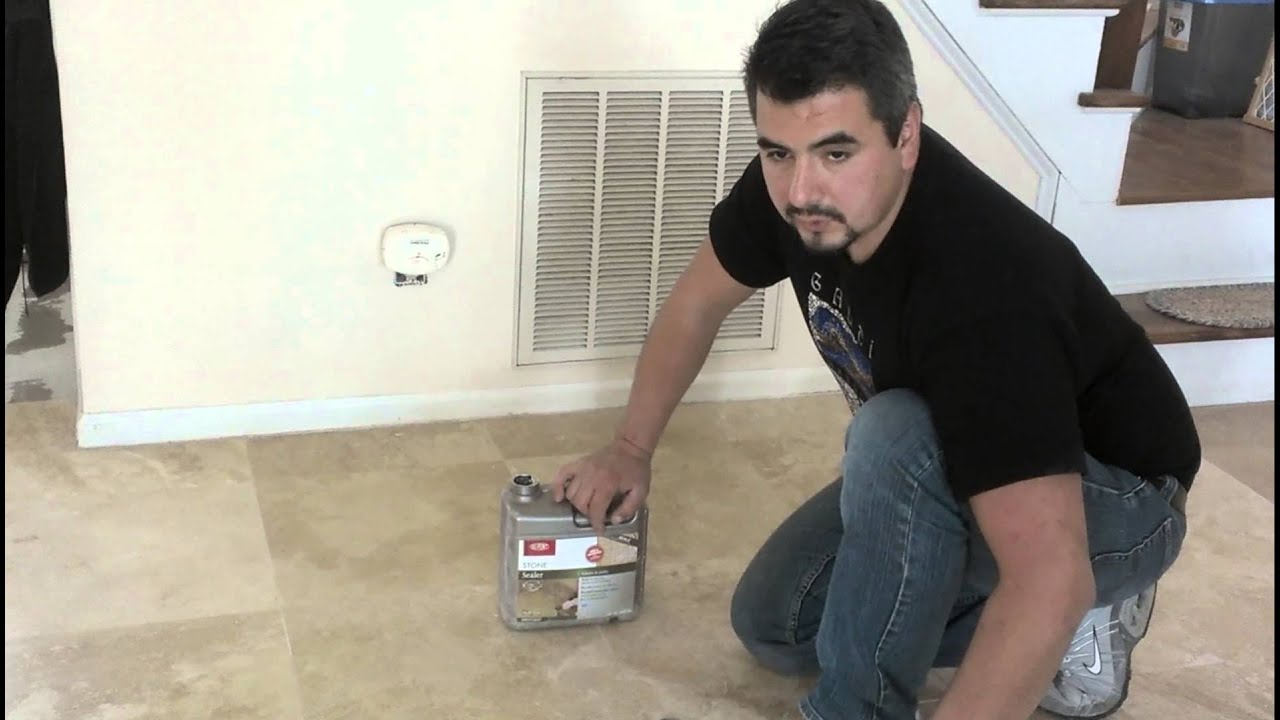 How to seal marble floors youtube dailygadgetfo Gallery