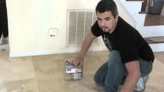 How to seal marble floors