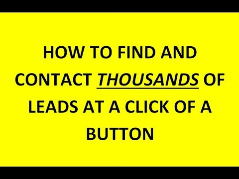 How To Get Leads and Contact Them Immediately At a Click of a Button – Goringless Sms