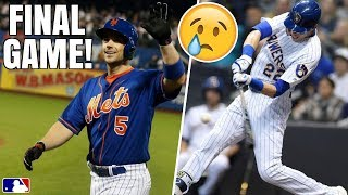 David Wright FINAL MLB Game For Mets! Yelich Hits Home Run For Brother, Rockies Clinch! MLB Recap