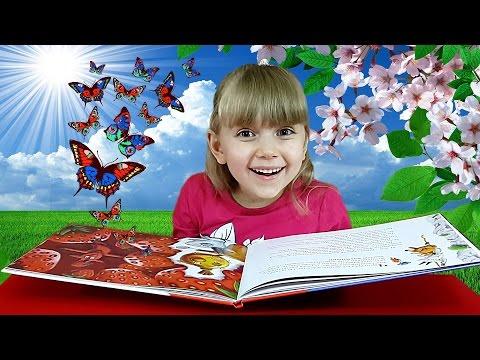 Читаем книжку на ночь вашему малышу - сказка Рукавичка с красивыми картинками (народная сказка)