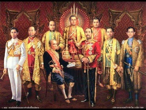หาดูยากราชสืบสันติวงศ์ของพระมหากษัตริย์ไทยตั้งแต่สมัยเชียงแสน-รัตนโกสินทร์