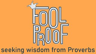 Foolproof - Week 2 - 11am