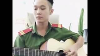Gửi Em Xa Nhớ Guitar Cover by chú công an