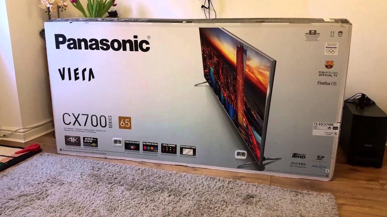 Panasonic Viera TX-65CX700B TV Linux